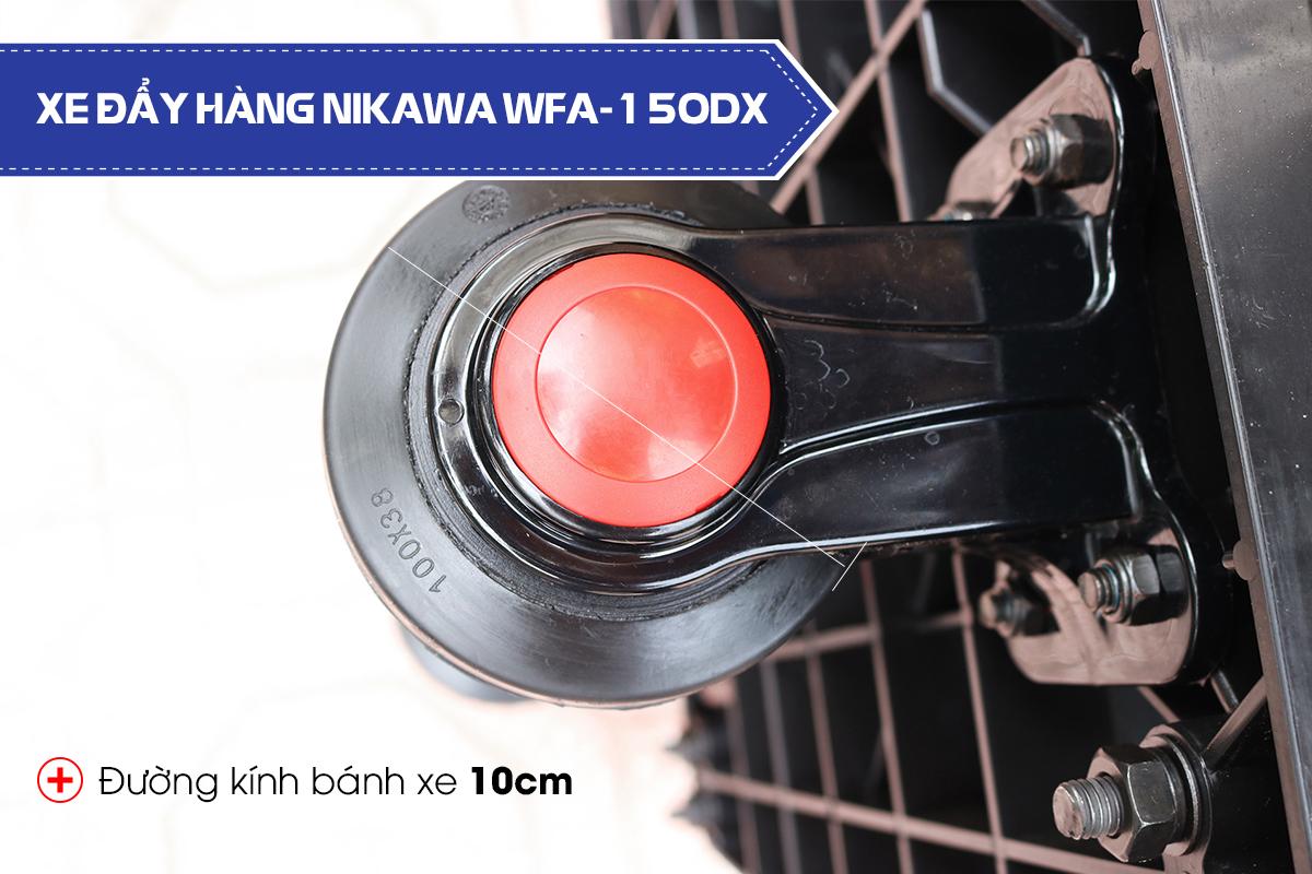 Xe đẩy hàng 4 bánh Nikawa WFA-150DX3