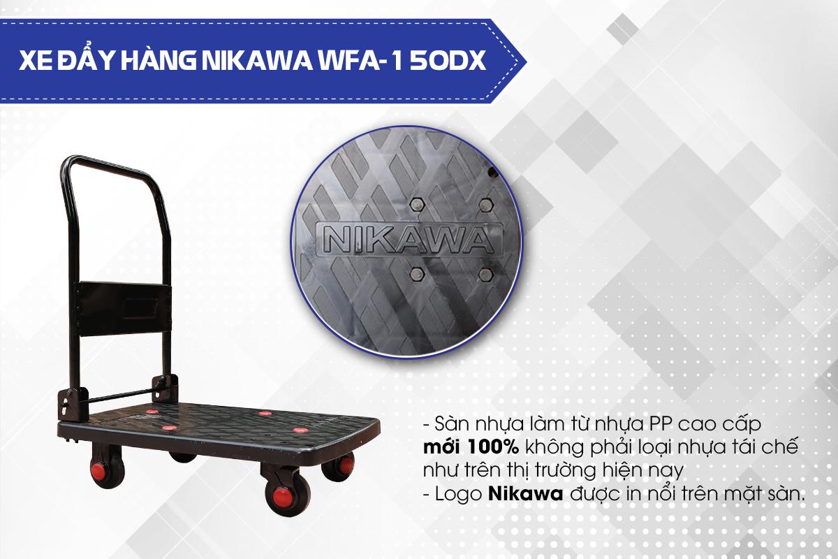 Xe đẩy hàng 4 bánh Nikawa WFA-150DX7